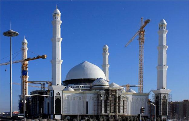 Khazret-Sultan-mosque-Kazakhstan