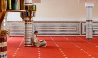 Inauguration d'une nouvelle mosquée à Harnes dans la banlieue de Lille