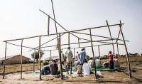 Mosquée du jour : une mosquée de fortune #Rohingya