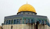 Coup d'oeil sur la mosquée du Dôme du Rocher