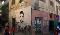 La visite du camp de réfugiés d'Aïda à Bethlehem en Palestine