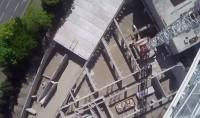 Mosquée de Mulhouse vue par un drone