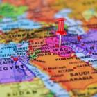 carte du moyen orient irak