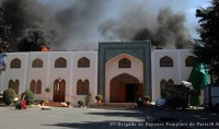 Une mosquée de Bagneux prend feu