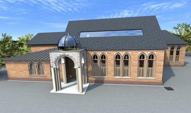 Mosquée de Conflans maquette
