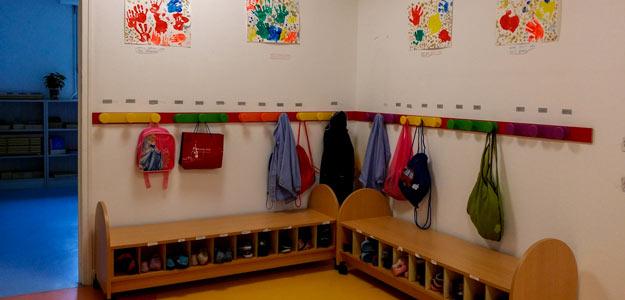 Intérieur école Atelier Montessori