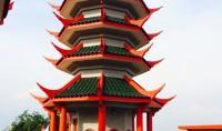 Mosquée du jour : style chinois à Meleka en Malaisie