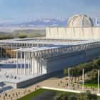 Panoramique sur la mosquée d'Alger