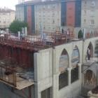 Le chantier de la mosquée de Fréjus
