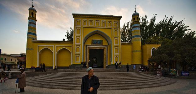 Une mosquée Kashgar, chine