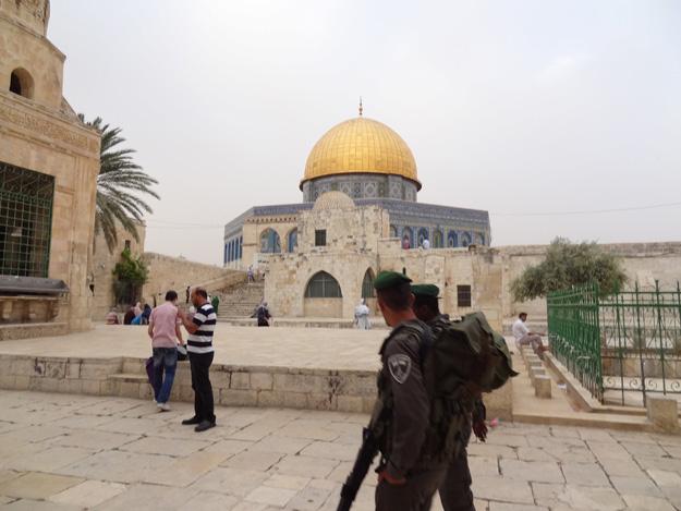 al-aqsa-dome-police