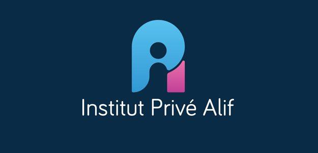 Un nouveau logo pour l'institut privé Alif (L'IPA)