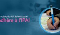 L'IPA lance une campagne d'adhésion pour vivre