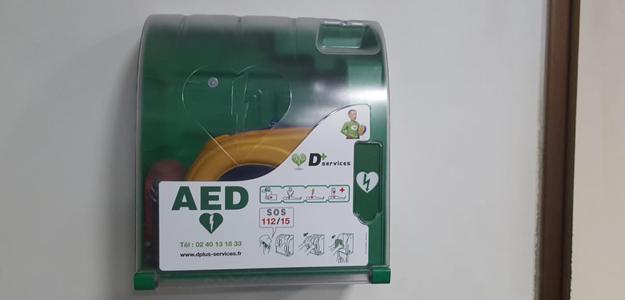 defibrillateur de la mosquée d'Orléans